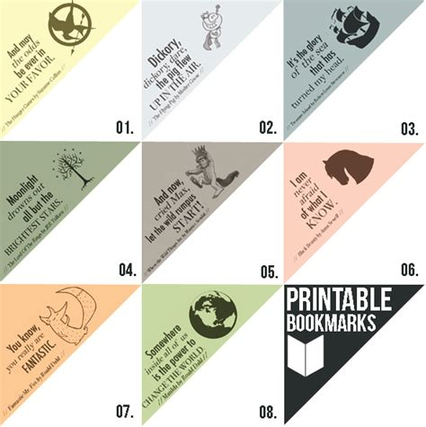 free printable of bookmarks free printable bookmarks