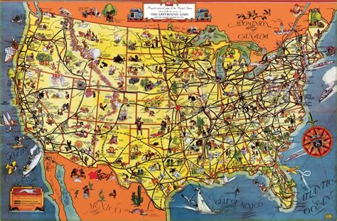 map usa tourist attractions usa tourist map