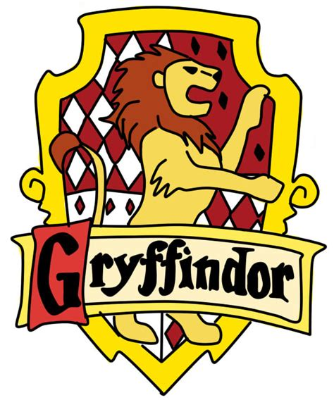 printable gryffindor house crest how to draw gryffindor logo
