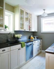 Kitchen Makeovers On A Budget Before And After - galley kitchen design ideas