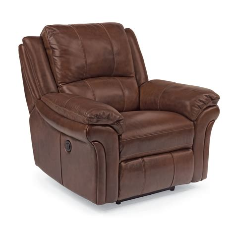flexsteel recliners flexsteel living room leather power recliner 1351 50p