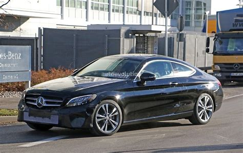classic mercedes coupe 2019 mercedes benz c class coupe facelift shows all new