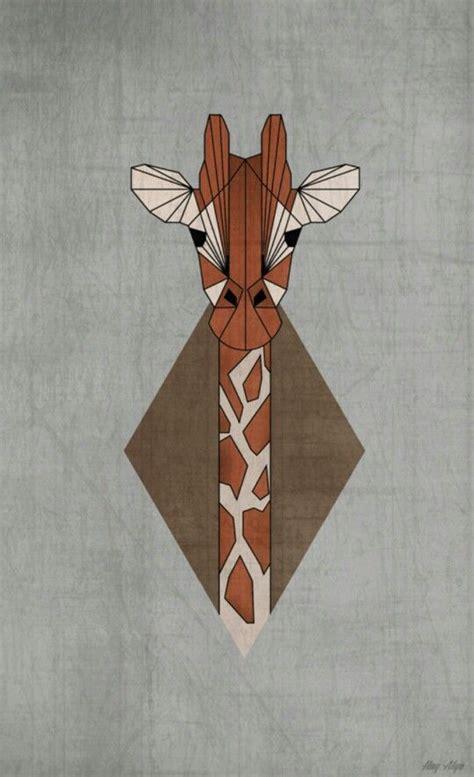 geometric giraffe tattoo pinterest the world s catalog of ideas