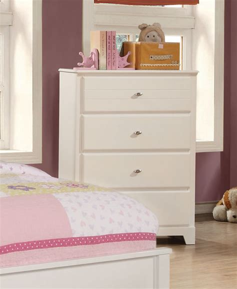 ashton bedroom furniture coaster ashton platform bedroom collection white 400761 bed set at homelement