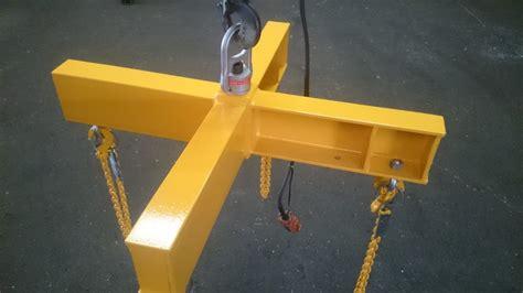 design lifting frame custom lifting frame fabrication bright arc