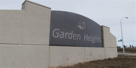 Garden Heights Garden Heights Signage Pearl Construction