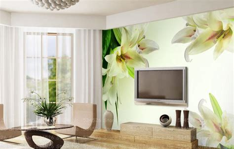 wallpaper in home decor luxury photo wallpaper murals tv sofa background
