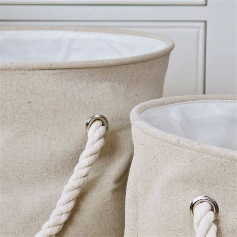 Linen Laundry Bins X 3 Seconds Bliss And Bloom Ltd Linen Laundry