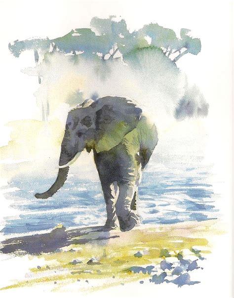 watercolor elephant tutorial 72 best art hazel soan images on pinterest paint