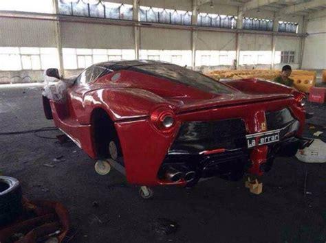mansory cars replica laferrari and pagani zonda r replica in china gtspirit