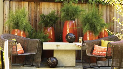 Backyard Bungalow Patio Ideas And Designs Sunset