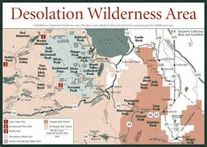 california wilderness areas map sherpa guides california nevada desolation