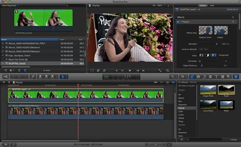 final cut pro vs after effects how to key a shot with final cut pro x macworld