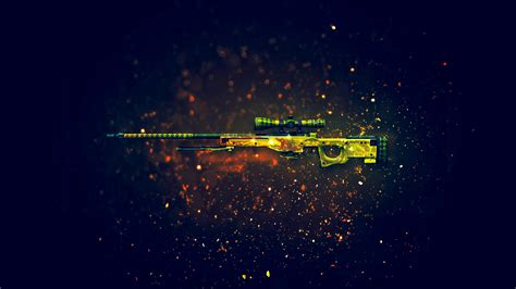 csgo awp dragon lore skin    wallpaper