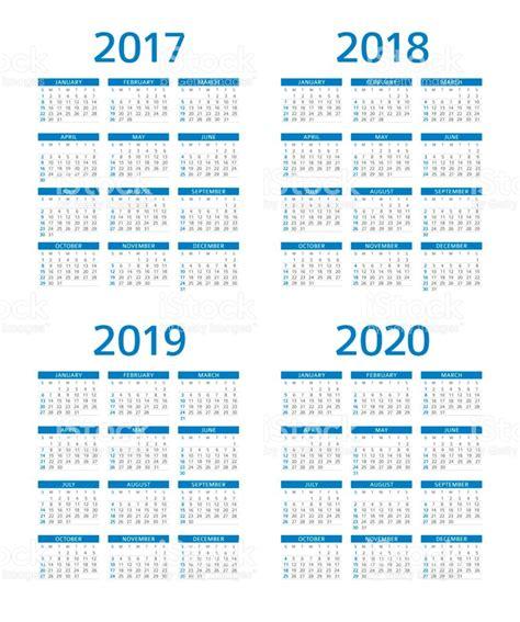 New Zealand Calendrier 2018 Calend 225 2017 2018 2019 2020 Domingo Segundafeira Vetor