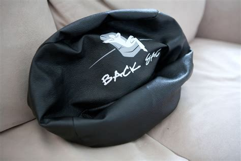 Sofas With Back Support by The Backsac A Portable And Unique Back Support That