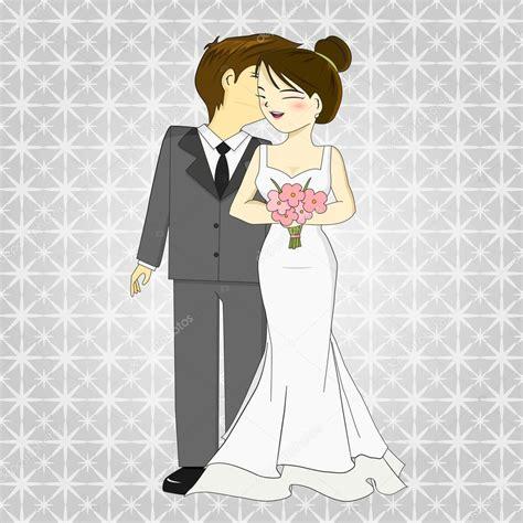 imagenes sarcasticas de novios vector de dibujos animados de novios vector de stock