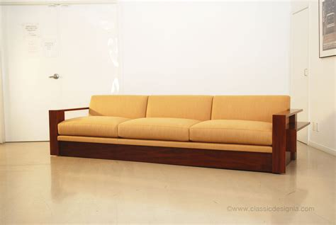 image custom wood frame sofa