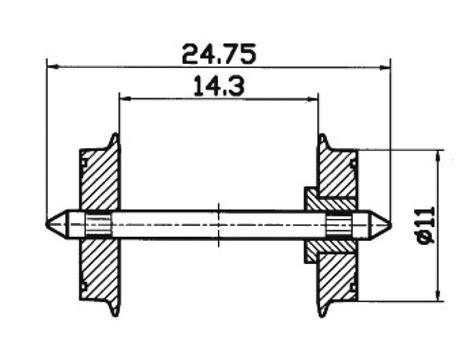 Produk Istimewa Siku L 75 X 85 Mm Siku Penyangga radsatz ho 11mm 24 75 lan roco 40198