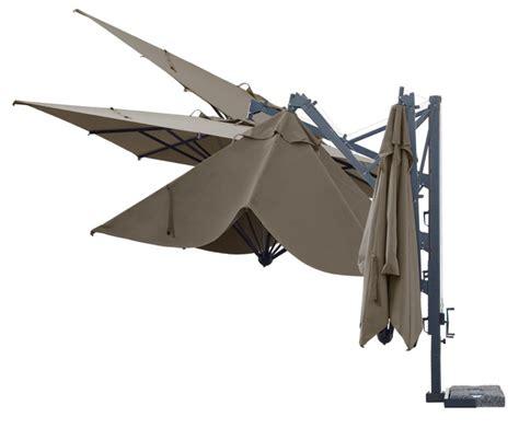 Sonnenschirm SCOLARO «Galileo Dark 3x4» Ampelschirm