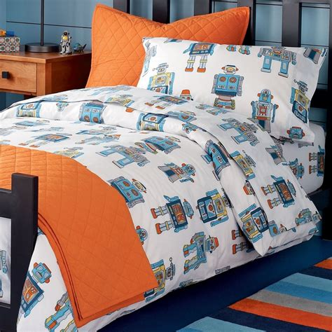 boy bedroom bedding robots boys bedroom pinterest