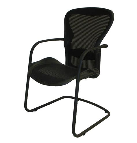 Aeron Side Chair by Used Office Chairs Herman Miller Aeron Side Chair At