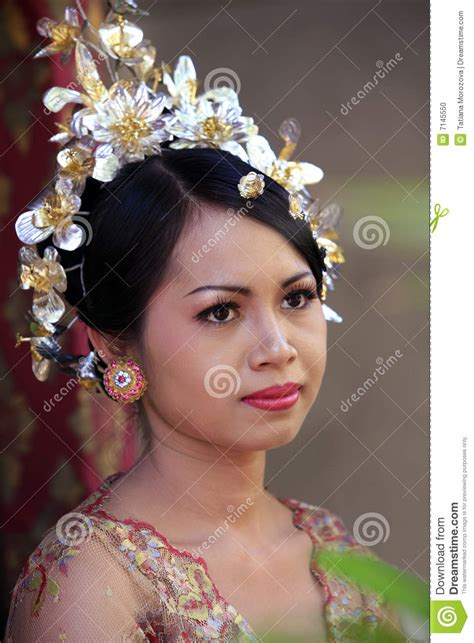 indonesian brides indonesian bride stock photo image 7145550