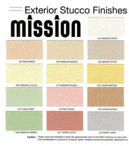 stucco color chart color