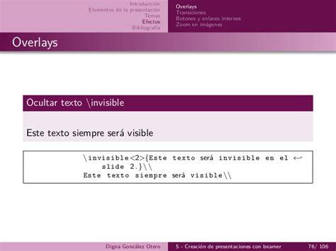 latex imagenes entre texto 5 beamer creaci 243 n de presentaciones con latex imprimible