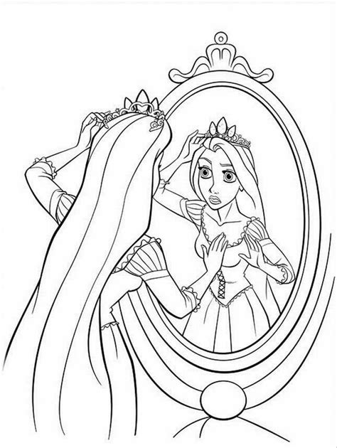 coloring pages tangled rapunzel tangled coloring pages free printable pictures