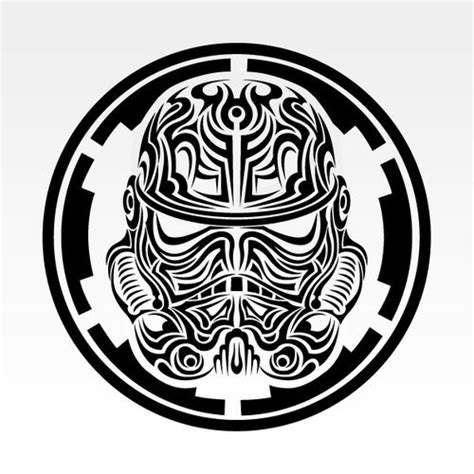 star wars tribal tattoo tribal tattoos stormtrooper and tattoos and