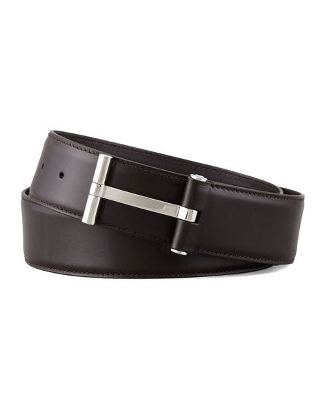Tom Ford Belts by Tom Ford Belt Tom Ford S Leather T Buckle Belt In