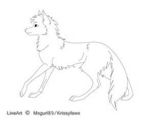 free wolf lineart by krissyfawx on deviantart