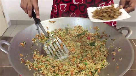 village style fried rice nasi goreng kampung