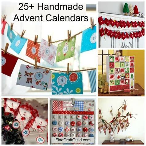 Handmade Calendars Ideas - 17 best ideas about advent calendars on