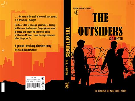 the outsiders book pictures the outsiders book cover on behance