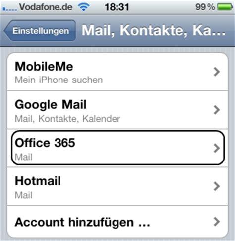 Office 365 Mail Iphone So L 228 Sst Sich Office 365 Auf Dem Iphone Einrichten