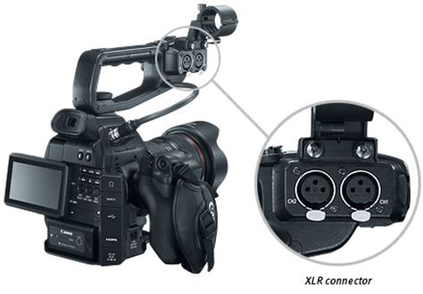 Kamera Canon Xlr Canon Eos C100 Pro Camcorders 6340b002 Vistek Canada Product Detail