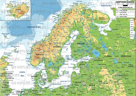 map of northern map of northern europe roundtripticket me