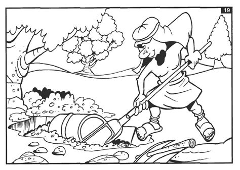 free coloring pages of parable of the pearl