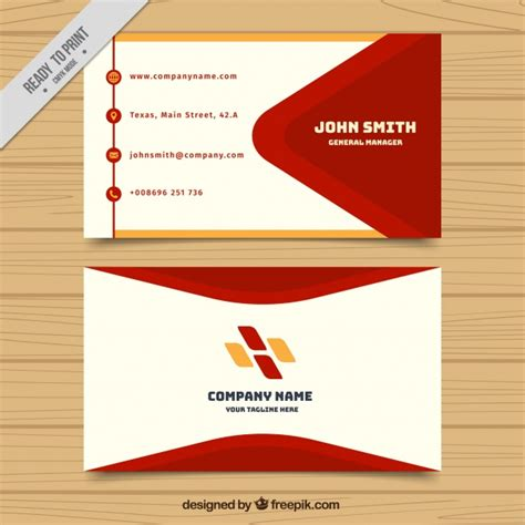 designer visiting cards templates visiting card template with and orange shapes vector