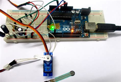arduino servo motor speed servo motor position by sensor using arduino uno