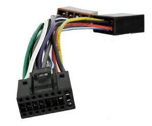 kenwood car stereo radio iso wiring harness connector adaptor cable loom 16 pin ebay