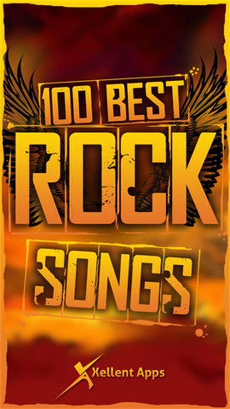 100 best rock songs 100 best rock songs app for iphone