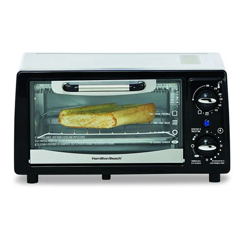New Toaster Oven Hamilton Brands Inc 4 Slice Toaster Oven Broiler