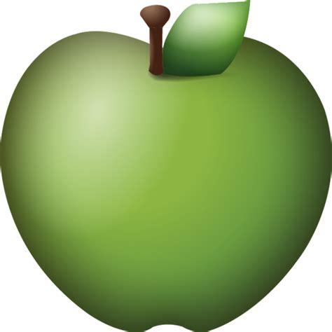 Apple Emoji | download green apple emoji icon emoji island
