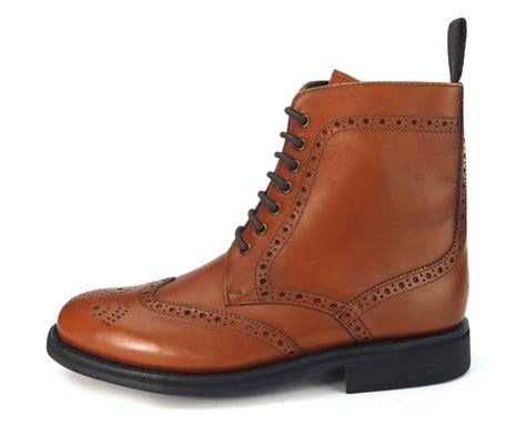 frank benchgrade leather welted lace up brogue
