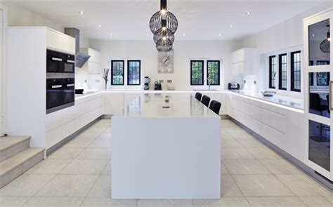 How To Corian To High Gloss flow high gloss white with glacier white corian contemporary kitchen other by stoneham