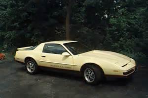 1987 Pontiac Firebird Formula 1987 Pontiac Formula 350 Yellow Car Page