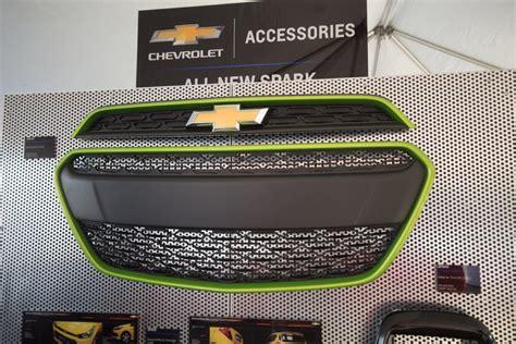 chevrolet accessories 2016 chevrolet spark accessory photos gm authority